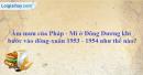 Âm mưu của Pháp-Mĩ ở Đông Dương khi bước vào đông-xuân 1953-1954 như thế nào ?