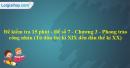 Đề kiểm tra 15 phút - Đề số 7 - Chương III - Phần 3 - Lịch sử 10