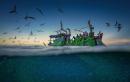 Viết đoạn văn nghị luận khoảng 8 đến 10 câu về vẻ đẹp của người dân làng chài đoàn thuyền đánh cá