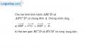 Bài 24 trang 9 SBT Hình học 10 Nâng cao