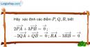 Bài 25 trang 9 SBT Hình học 10 Nâng cao
