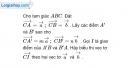 Bài 28 trang 9 SBT Hình học 10 Nâng cao