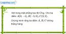 Bài 50 trang 13 SBT Hình học 10 Nâng cao
