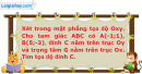Bài 51 trang 13 SBT Hình học 10 Nâng cao