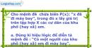 Bài 1.17 trang 9 SBT Đại số 10 Nâng cao