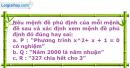 Bài 1.2 trang 7 SBT Đại số 10 Nâng cao
