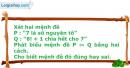 Bài 1.9 trang 8 SBT Đại số 10 Nâng cao
