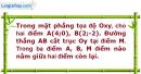 Bài 58 trang 15 SBT Hình học 10 Nâng cao