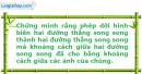 Bài 11 trang 6 SBT Hình Học 11 nâng cao