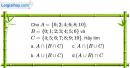 Bài 1.27 trang 11 SBT Đại số 10 Nâng cao