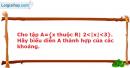 Bài 1.32 trang 12 SBT Đại số 10 Nâng cao