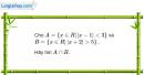 Bài 1.36 trang 12 SBT Đại số 10 Nâng cao