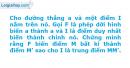 Bài 14 trang 7 SBT Hình Học 11 nâng cao