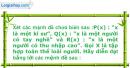Bài 1.42 trang 12 SBT Đại số 10 Nâng cao