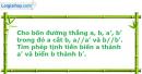 Bài 2 trang 6 SBT Hình Học 11 nâng cao