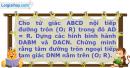 Bài 5 trang 6 SBT Hình Học 11 nâng cao