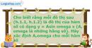 Bài 1.12 trang 8 SBT Đại số và Giải tích 11 Nâng cao