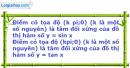 Bài 1.15 trang 9 SBT Đại số và Giải tích 11 Nâng cao