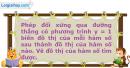 Bài 1.19 trang 10 SBT Đại số và Giải tích 11 Nâng cao