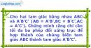 Bài 22 trang 8 SBT Hình Học 11 nâng cao