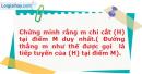 Bài 26 trang 9 SBT Hình Học 11 nâng cao