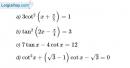 Bài 1.26 trang 11 SBT Đại số và Giải tích 11 Nâng cao