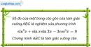 Bài 1.38 trang 14 SBT Đại số và Giải tích 11 Nâng cao