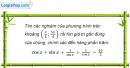 Bài 1.45 trang 15 SBT Đại số và Giải tích 11 Nâng cao