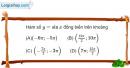 Bài 1.52 trang 17 SBT Đại số và Giải tích 11 Nâng cao