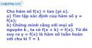 Bài 1.59 trang 18 SBT Đại số và Giải tích 11 Nâng cao