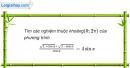 Bài 1.66 trang 19 SBT Đại số và Giải tích 11 Nâng cao