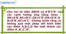Bài 10 trang 7 SBT Hình học 12 Nâng cao