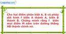 Bài 12 trang 7 SBT Hình học 12 Nâng cao