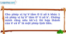 Bài 16 trang 8 SBT Hình học 12 Nâng cao
