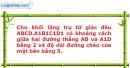 Bài 23 trang 9 SBT Hình học 12 Nâng cao