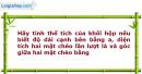 Bài 31 trang 10 SBT Hình học 12 Nâng cao
