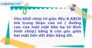 Bài 32 trang 10 SBT Hình học 12 Nâng cao