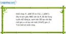 Bài 36 trang 10 SBT Hình học 12 Nâng cao