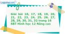 Bài 16, 17, 18, 19, 20, 21, 22, 23, 24, 25, 26, 27, 28, 29, 30, 31, 32 trang 16 SBT Hình học 12 Nâng cao