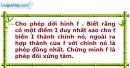 Bài 55 trang 12 SBT Hình học 12 Nâng cao
