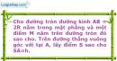 Bài 58 trang 13 SBT Hình học 12 Nâng cao