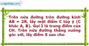 Bài 60 trang 13 SBT Hình học 12 Nâng cao