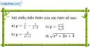 Bài 1.2 trang 10 SBT Giải tích 12 Nâng cao