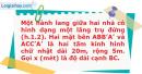 Bài 1.25 trang 14 SBT Giải tích 12 Nâng cao