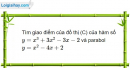 Bài 1.60 trang 22 SBT Giải tích 12 Nâng cao