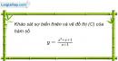 Bài 1.68 trang 24 SBT Giải tích 12 Nâng cao