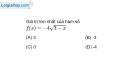 Bài 1.69 trang 24 SBT Giải tích 12 Nâng cao