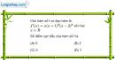 Bài 1.70 trang 24 SBT Giải tích 12 Nâng cao