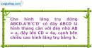 Bài 26 trang 59 SBT Hình học 12 Nâng cao