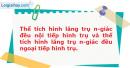 Bài 29 trang 59 SBT Hình học 12 Nâng cao